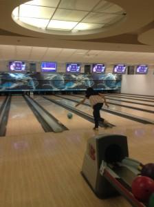 Joanne bowling