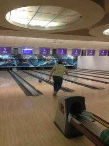 Lance bowling