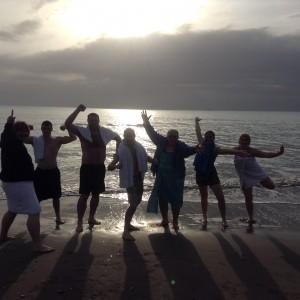 group shot swim