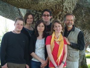 Our TESOL graduation photo, where we first met.