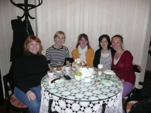 tea out with tesol girls